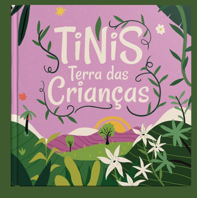 TiNis: Terra das Crianças (capa do conto)
